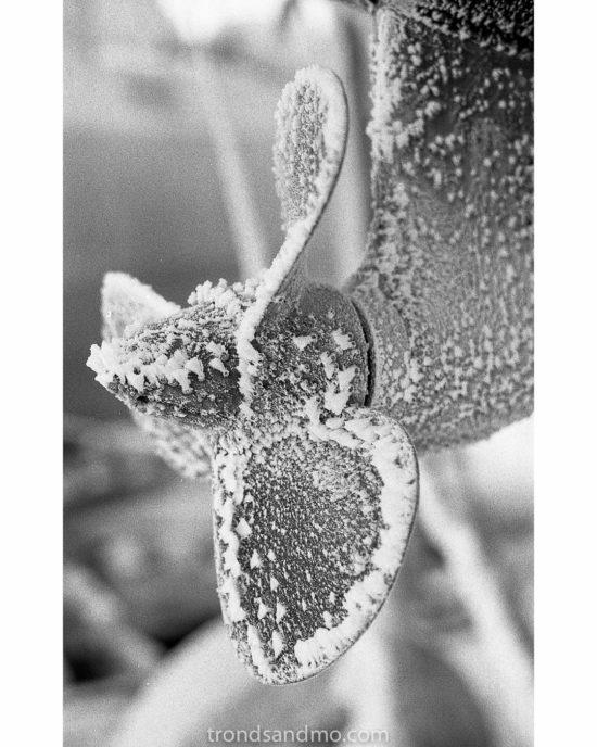 Frosty propeller