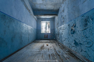 Blue room at Grumant