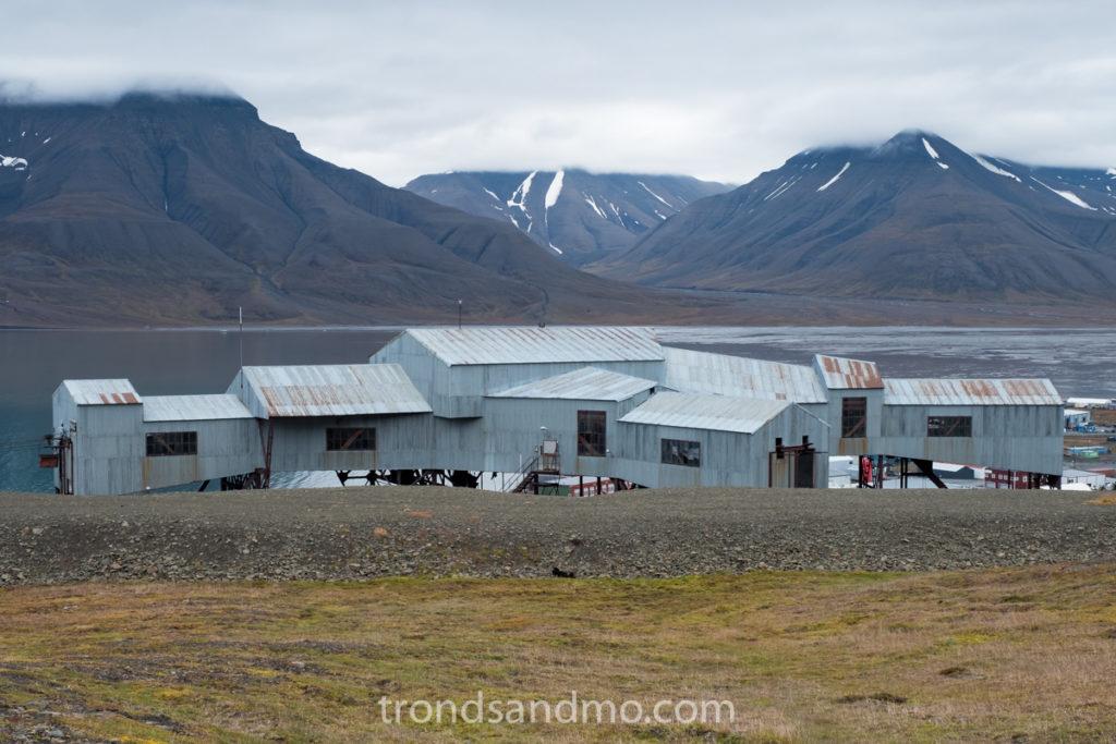 Longyearbyen cableway central