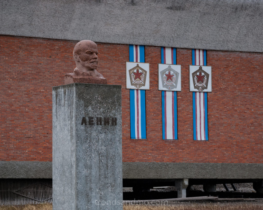 Lenin at Pyramiden