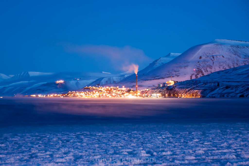 Ice cold Longyearbyen