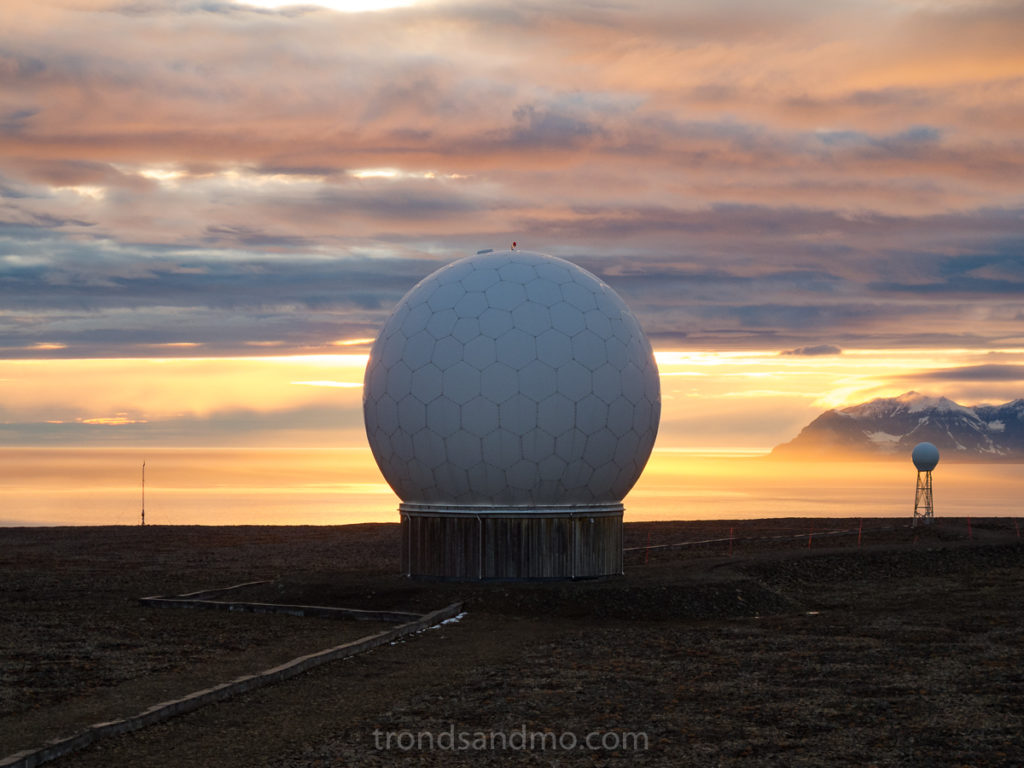 Sunset at Svalsat