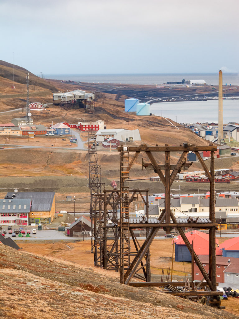 Trestles in Longyearbyen