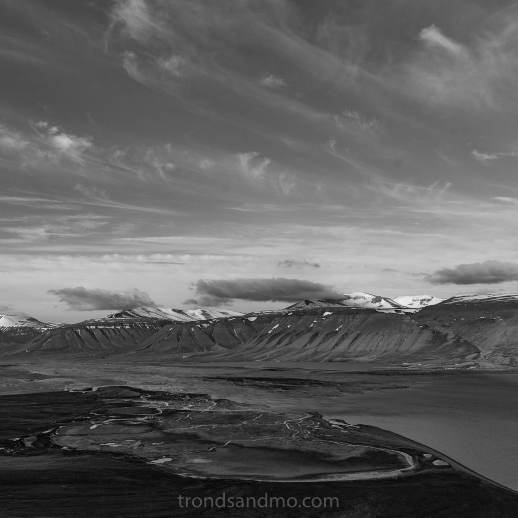 Adventdalen in BW