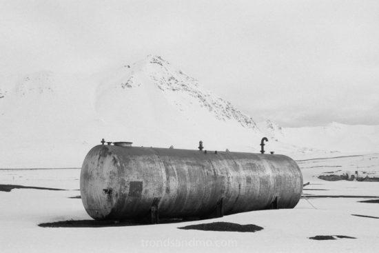 Oil tank Ny-Ålesund