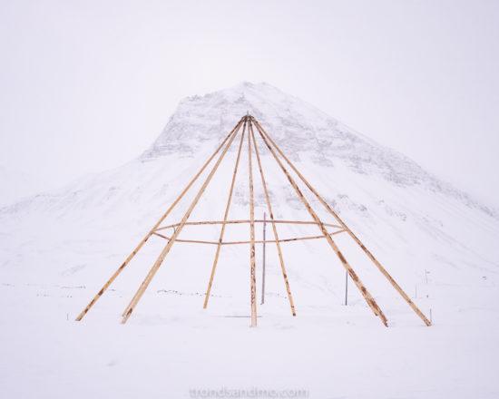 Lavvu poles