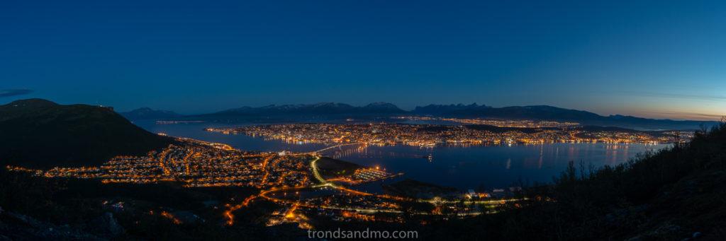 Tromsø seen from Kjølen