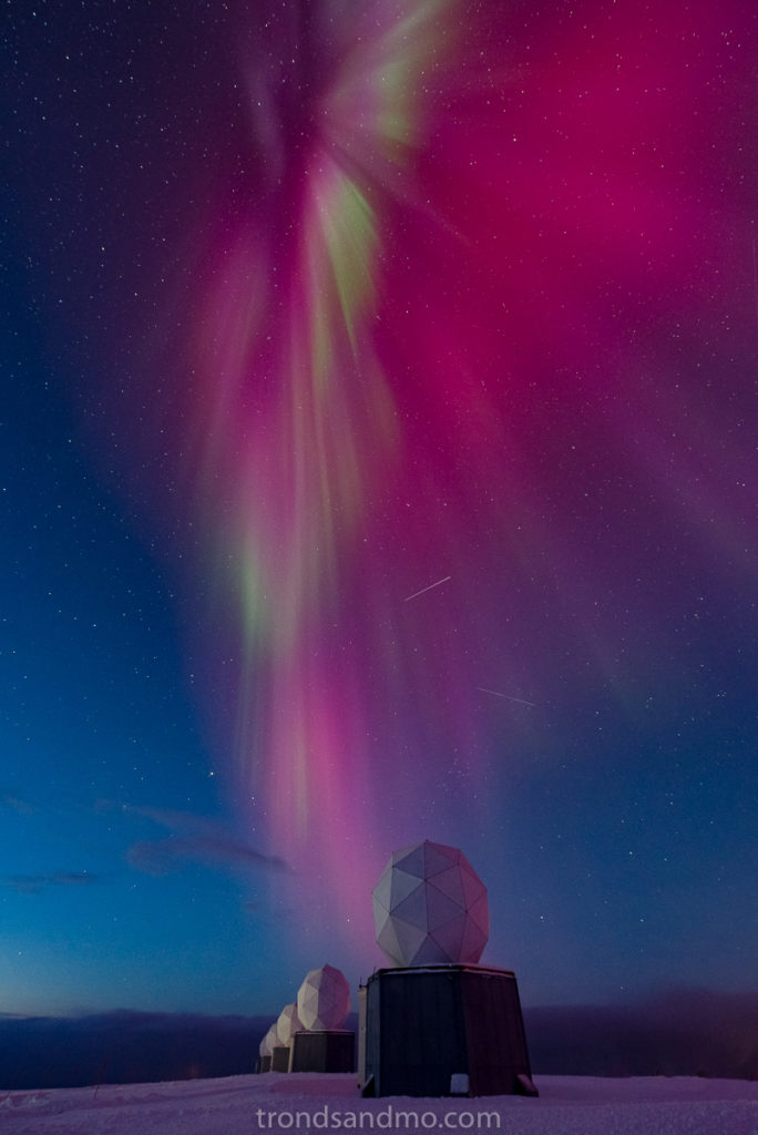 Day time Aurora over Svalsat