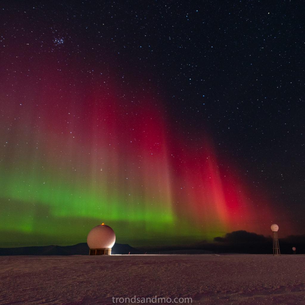 Aurora at Svalsat